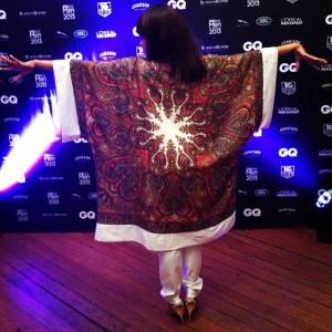 Dineo in kimono back