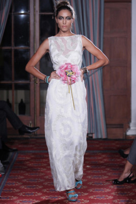 Bower shift wedding Dress