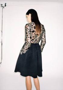 Polo Neck and Gugu Skirt