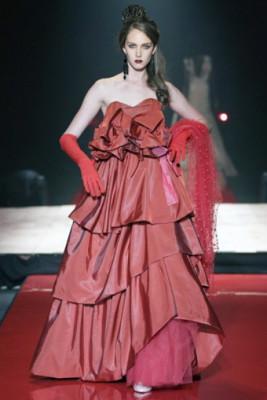 spanish frill dress
