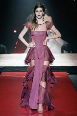 frill daria dress