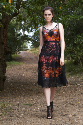 Vanessa Dress over Vlisco Slip Dress