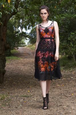 Vanessa Dress over Vlisco Slip Dress