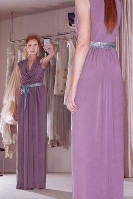 Cowl Dress 1