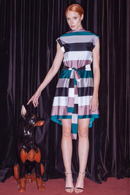Drape Dress 1