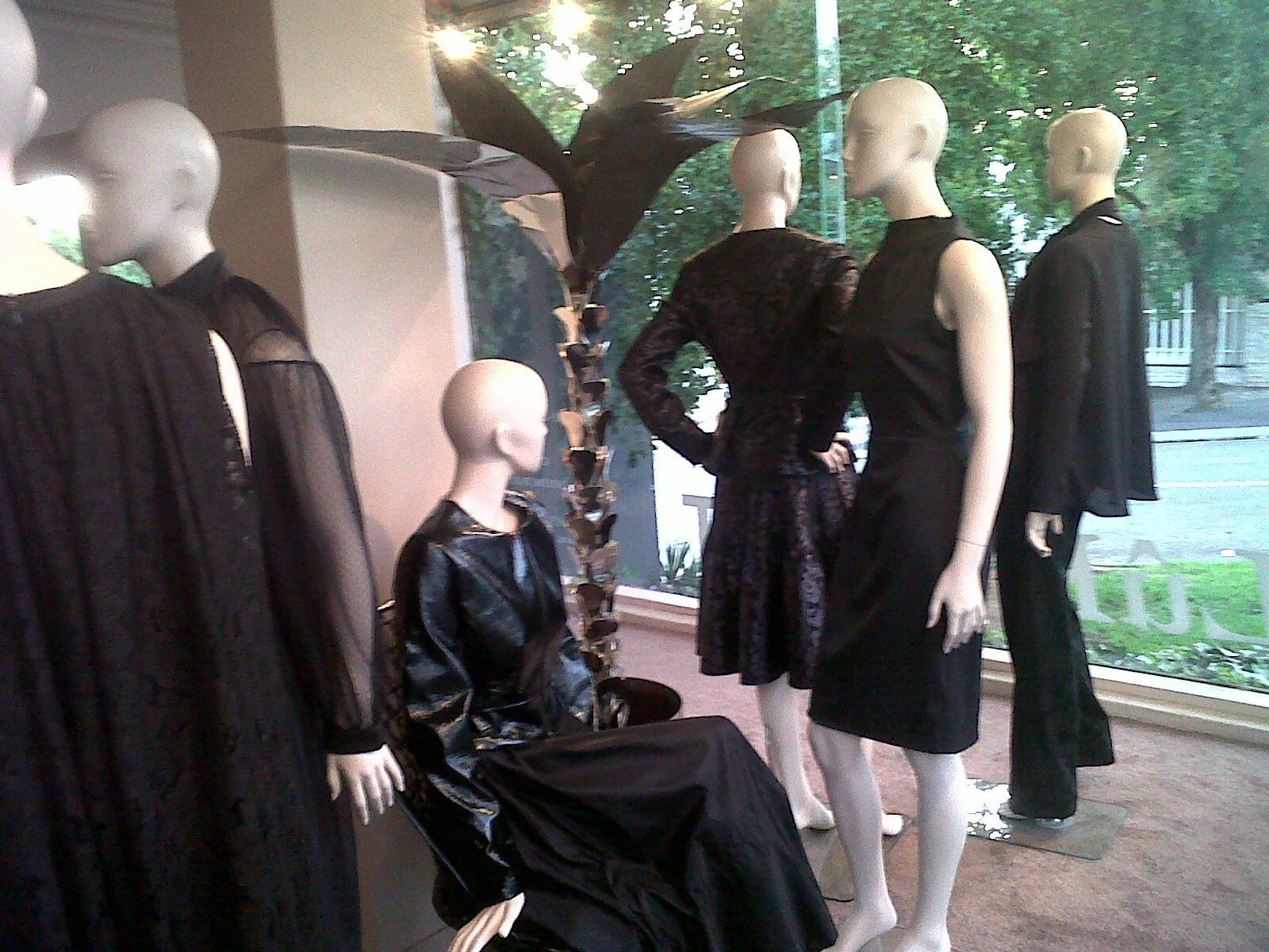 Mourning Mannequins