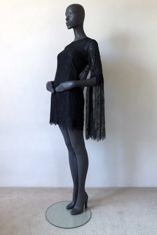 30S BELL SLEEVE DRESS