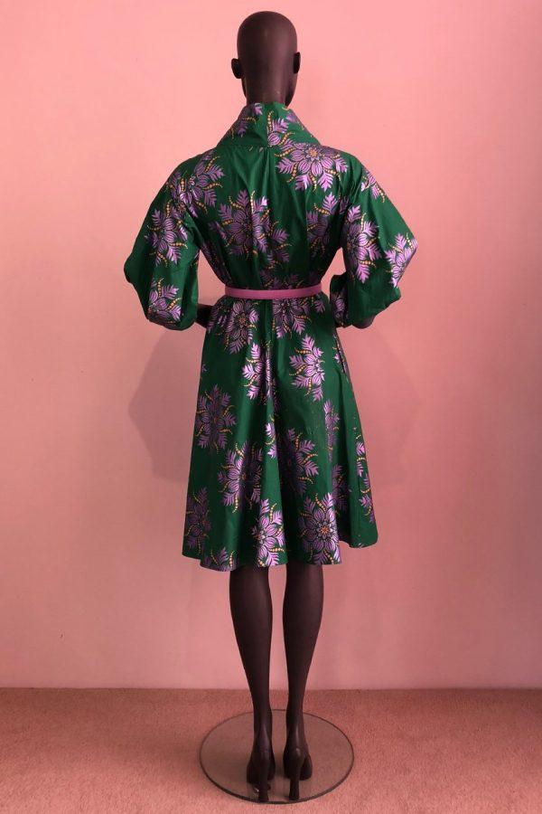 30s Coat Dress Back