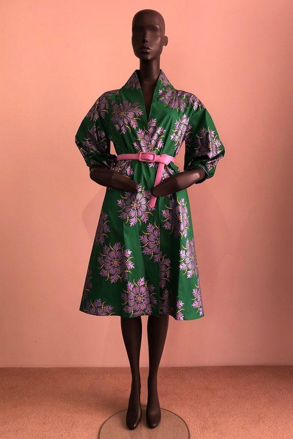 30s Coat Dress Front