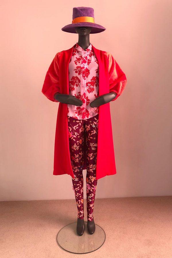 30s Coat Dress, Malene Shirt and Casual Pants