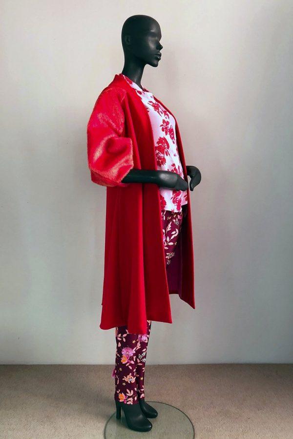 30s Coat Dress, Malene Shirt and Casual Pants Side