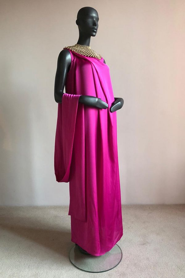 Angel Dress & Beaded African Neck Piece