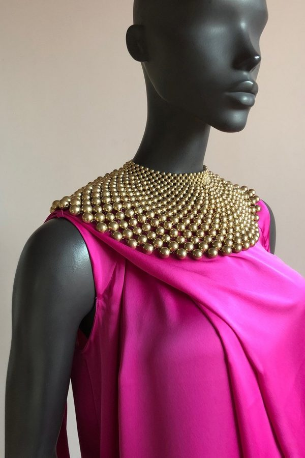 Angel Dress & Beaded African Neck Piece Necklace