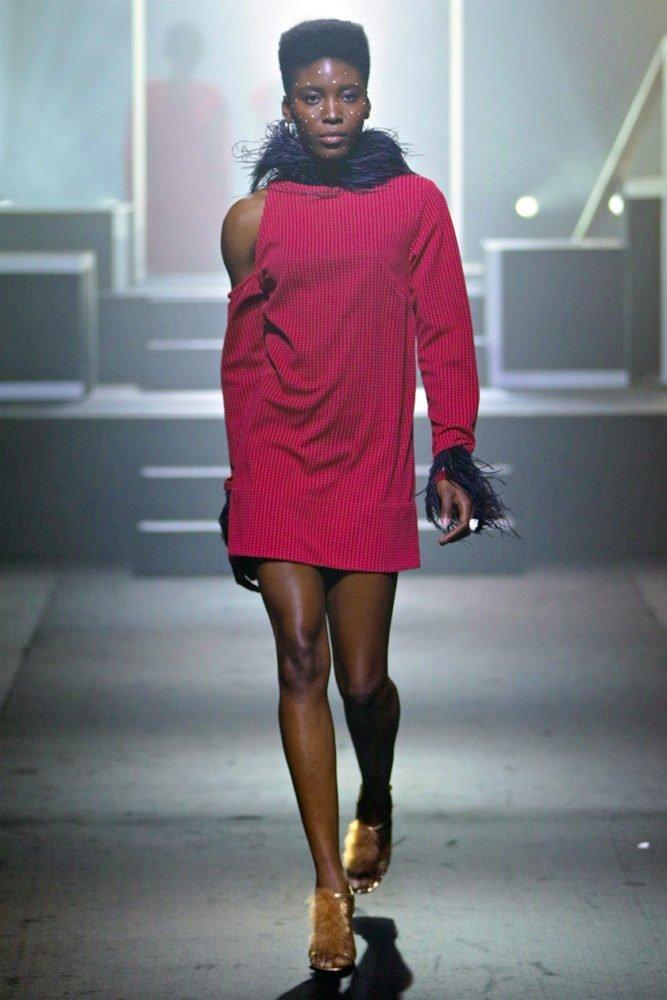 Cold Shoulder HK Dress 1