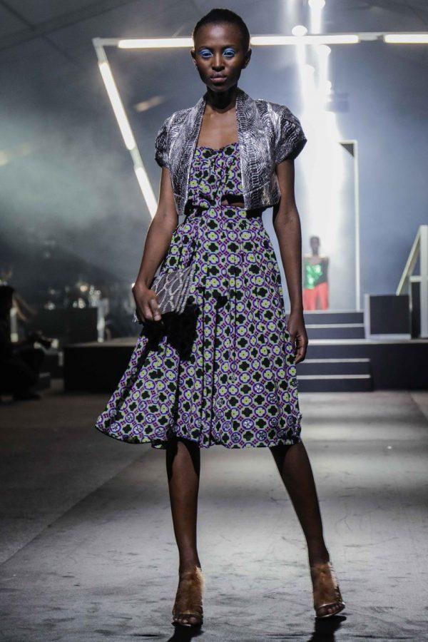 Crop Peplum Jacket & Leatitia Top & Party Skirt 2