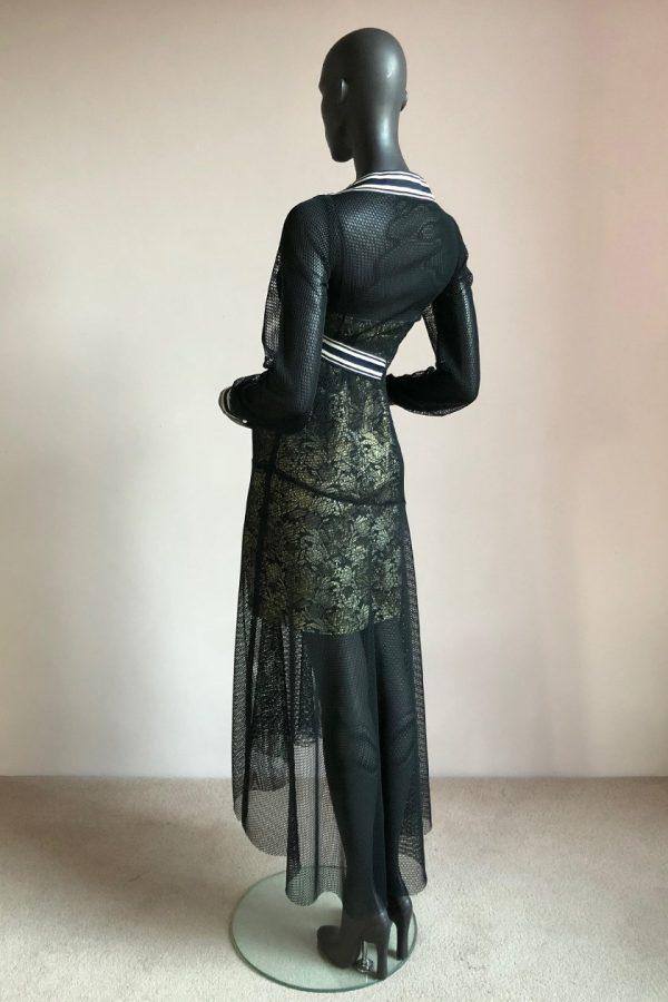 Cynthia Dress with Side Bow Slip Back