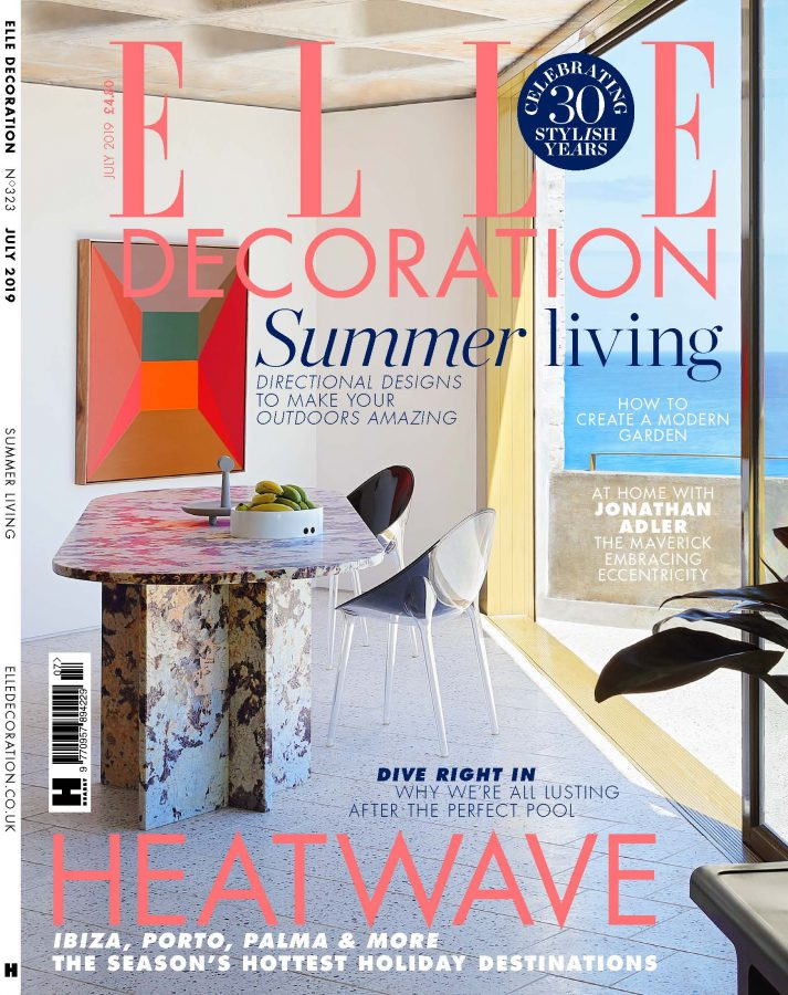 Elle Decor July 2019 Cover