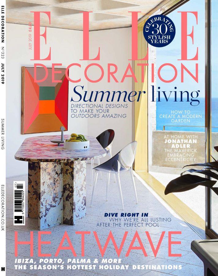Elle Decor July 2019 Cover