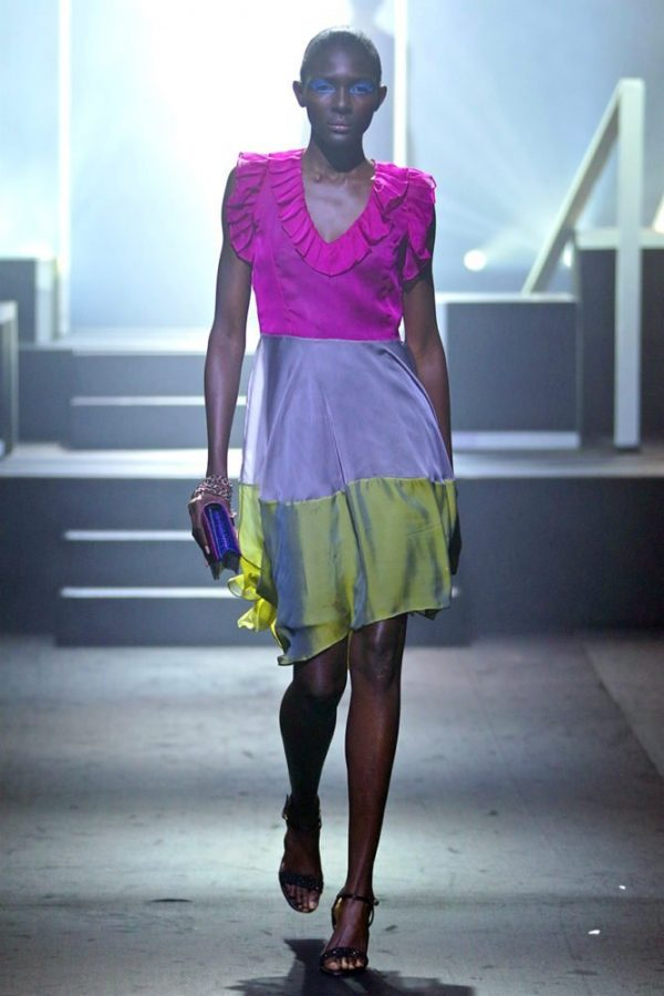 Frill Collar Lori Dress 1