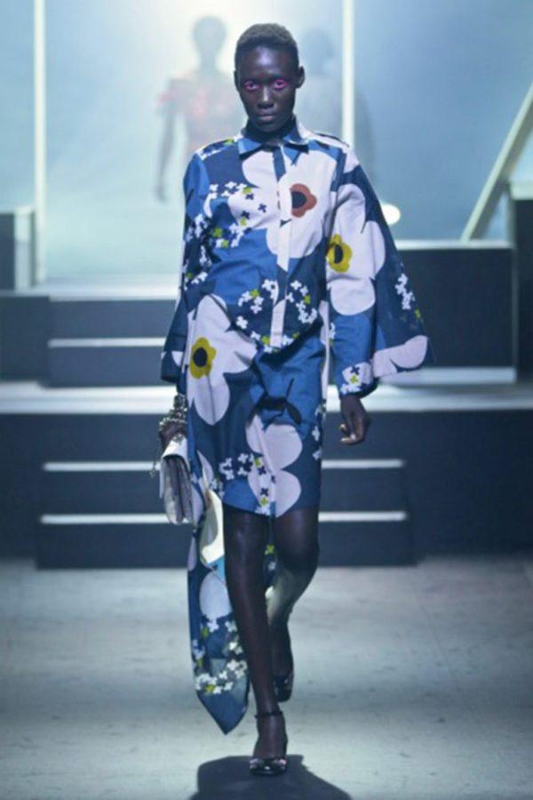 Kimono Safari Shirt Dress 1