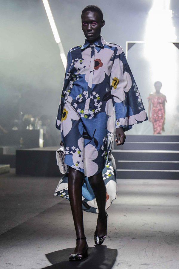Kimono Safari Shirt Dress 3