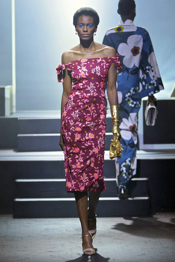 Miriam Makeba Shift Dress 1