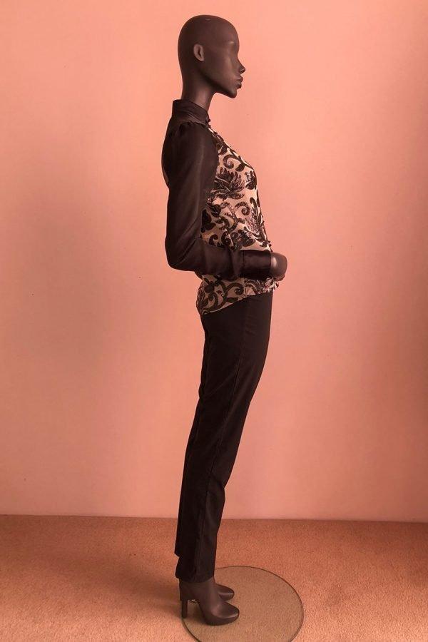Pagoda Top & Side Zip Pants Side
