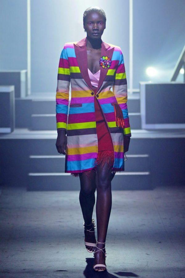 Tuxedo Coat & Rio Dress 1