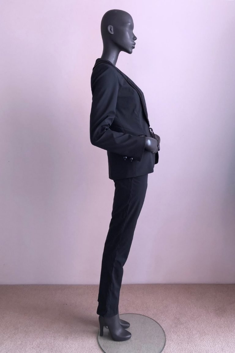Tuxedo Jacket and Tuxedo Pants Side