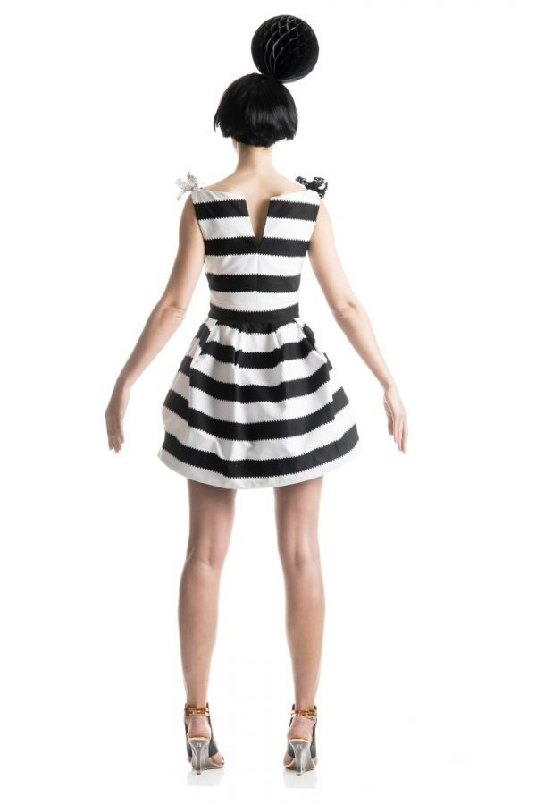 Boatneck Bell Dress 2