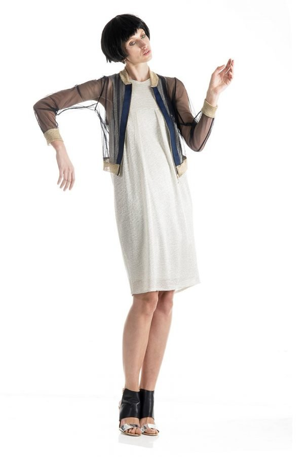 Bowling Jacket and Tulip Dress 3