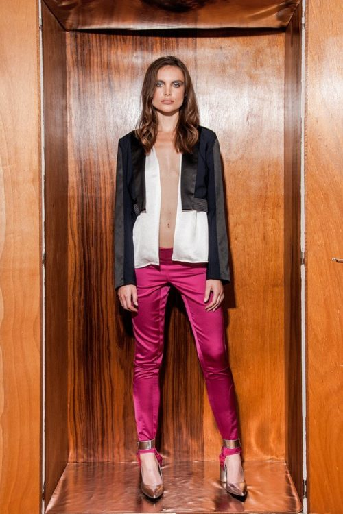 Cropped Tux Jacket, Shacket & Stirrup Pants 1