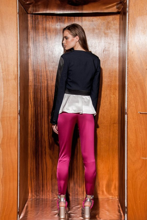 Cropped Tux Jacket, Shacket & Stirrup Pants 2
