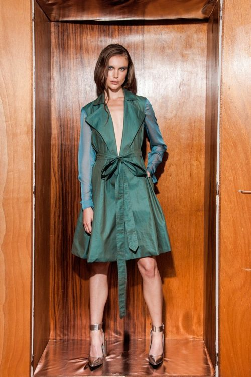 Gugu Trench Dress 1