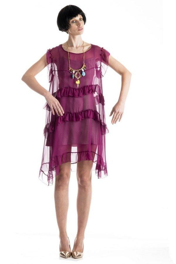 Kay Dress and Kirsten Goss Jewellery 1