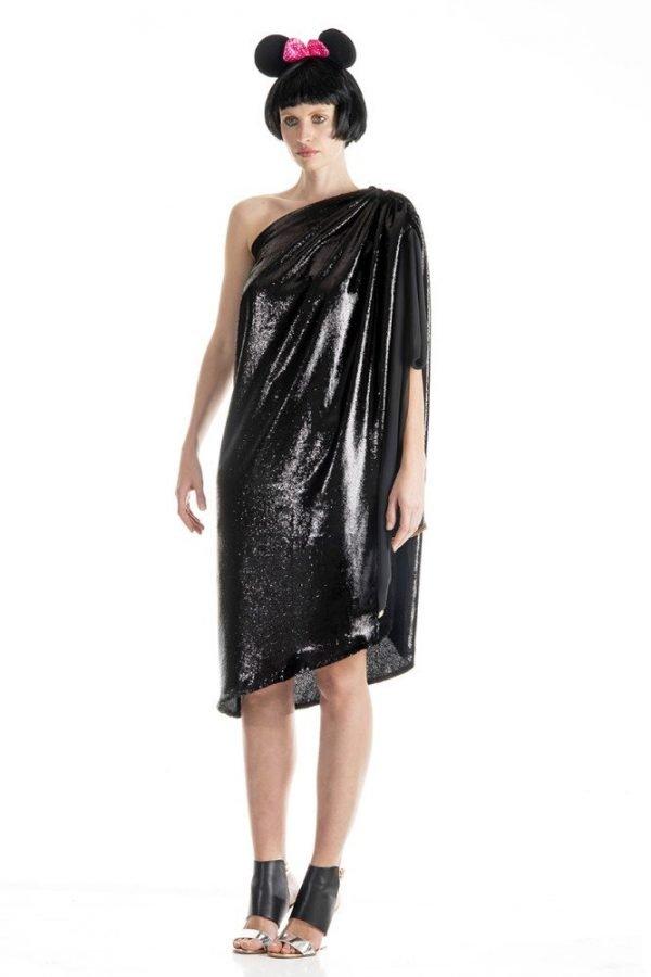 One Shoulder Dress 1
