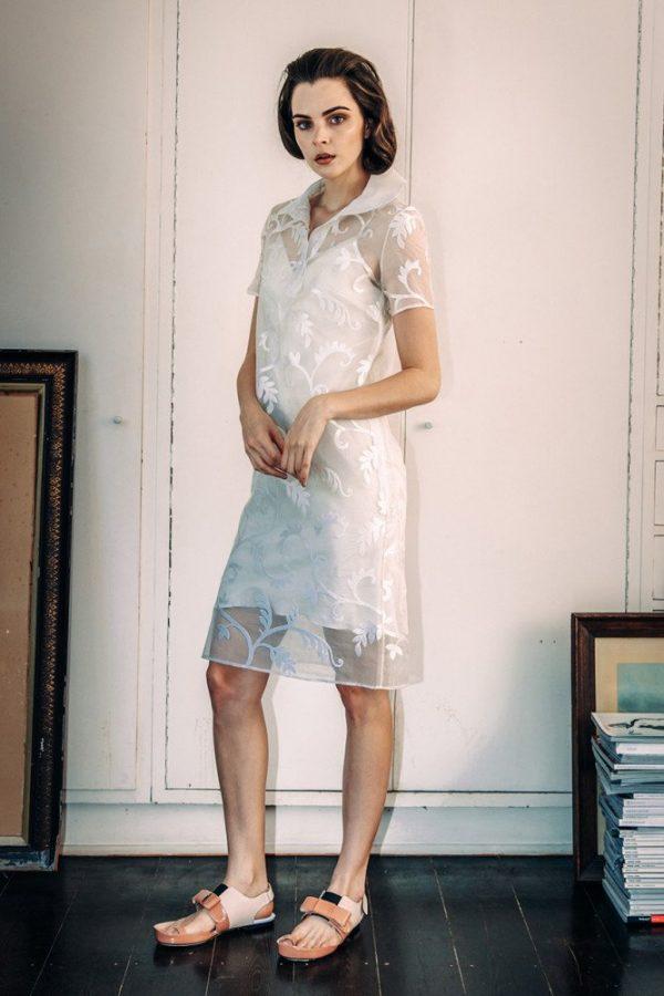 Polo Dress with Basic Slip 1