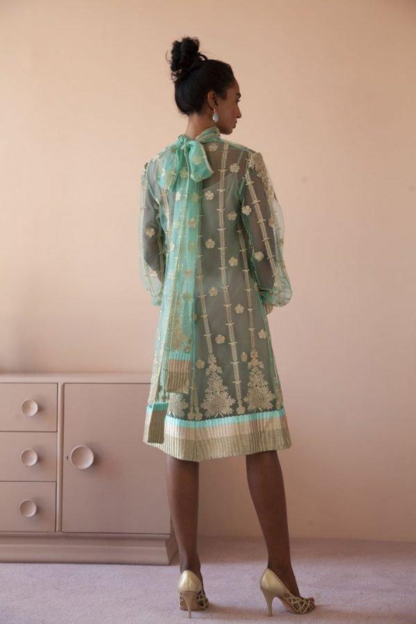 Poloneck Dress, nude slip dress_0623 EXTRA::44